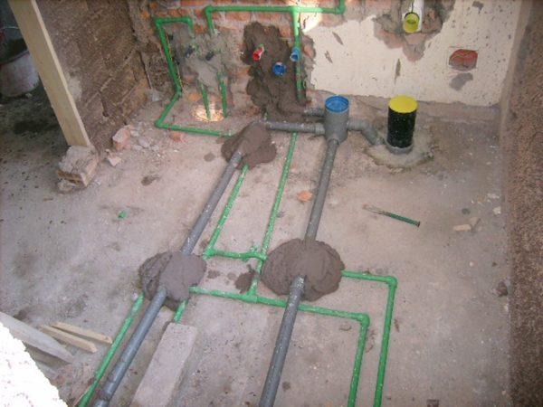 Impianti sanitari bagni